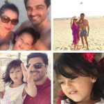 Neelam with husband and daughter