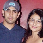 Neeru Bajwa with Ex-boyfriend Amit Sadh