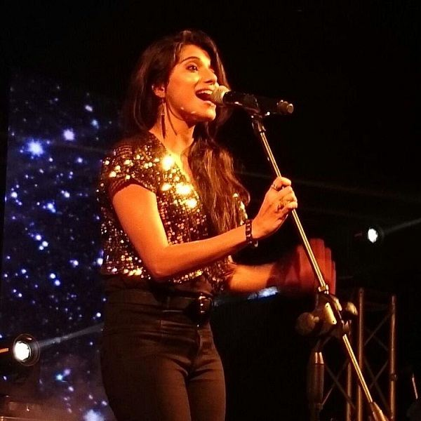 Neethusha Cherckal performing at an event