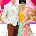 Neeti Palta Parents with her husband