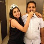 Neha Bagga with her father