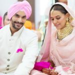 Angad Bedi and Neha Dhupia marriage pic