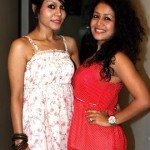 Neha Kakkar with her sister