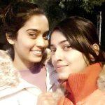 Neha Saxena with her sister Nidhi Saxena
