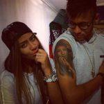 Neyman with his tattooed and real sister Rafaella Beckran