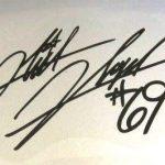 Nicky Hayden signature