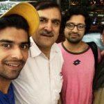 Nikhil Mehta with his family