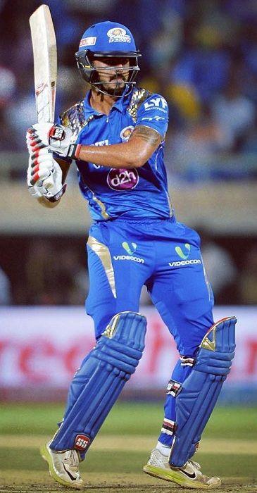 Nitish Rana batting