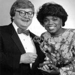 Oprah Winfrey and Roger Ebert