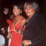 Oprah Winfrey with her mother Vernita Lee