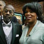 Oprah with her Father Veron Winfrey