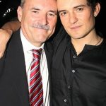 Orlando Bloom with his father Collin Stone