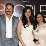 Parineeti Chopra with her parents