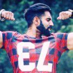 Parmish Verma right biceps tattoo