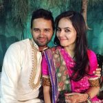 Parthiv Patel with his wife