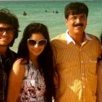 Pooja Gor with her family
