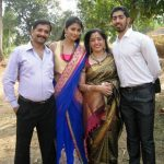 Pooja Hedge with her family