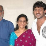 Prabhas with his Parents