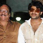 Prabhas with his paternal uncle Uppalapati Krishnam Raju