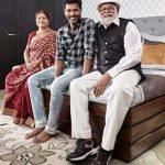 Prabhu Deva with Parents