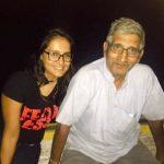 Pratima Singh with her father