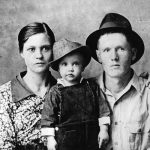 Presley and his parents