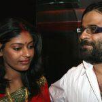 Pritam Chakraborty with wife Smita