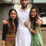 Priyal with her brother and sister