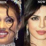 Priyanka Chopra then and now