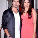 Priyanka Chopra with Ex-boyfriend Shahid Kapoor