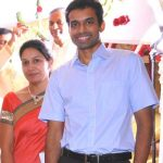 Pullela Gopichand with his wife