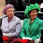 Queen Elizabeth with her Sister Margarete