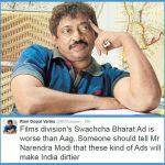 RGV Swachch Bharat controversy