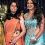 Raai Laxmi with her sister Ashwini