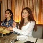 Raai Laxmi with her sister Reshma