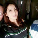 Raashi Khanna with her parents