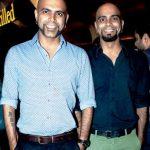 Raghu Ram (left) with his brother Rajiv