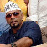 Raghu Ram supporting Aam Aadmi Party (AAP)