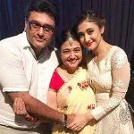 Ragini Khanna with her mother & brother
