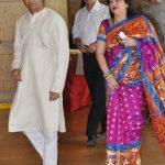 Raj Thackeray with his Wife Sharmila
