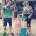 Rajat Ahluwalia with his family