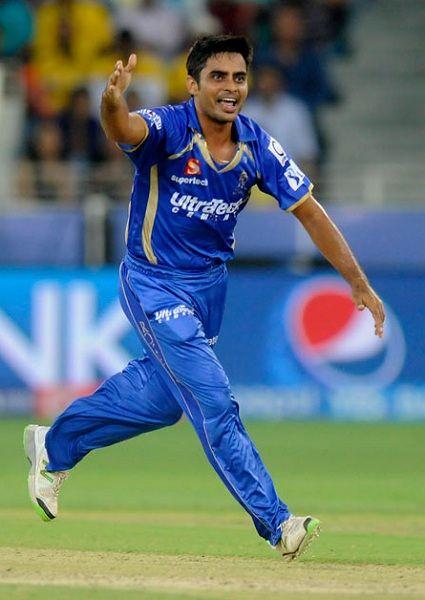 Rajat Bhatia bowling
