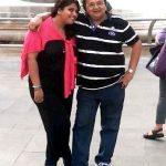 Rakesh Bedi with his daughter Ritika Bedi