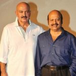 Rakesh Roshan with his brother Rajesh Roshan