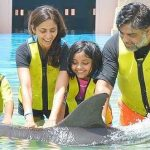 Ram Kapoor with his family