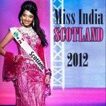 Rameet Sandhu Miss India Scotland 2012