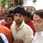 Ranbir Kapoor With His Uncle Randhir Kapoor