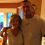 Randy Orton with his mother