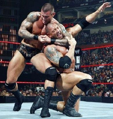 Randy Orton wrestling