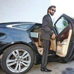 Ranveer Singh Jaguar XJL